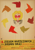 Polish Poster by Jerzy Flisak