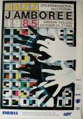 Polish Poster by Roslaw Szaybo