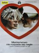 Polish Poster by A. Bilewicz
